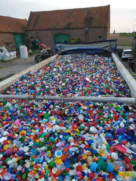 Plastic dopjes